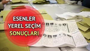 Esenler yerel seçim sonuçları ve oy oranlarında son durum