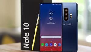 Samsung Galaxy Note 10 işte bu özelliklerle geliyor