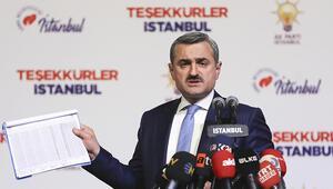 AK Parti İstanbul İl Başkanı'ndan son dakika açıklaması: Sonucu etkileyecek 319 bin 570 geçersiz oy ile karşı karşıyayız