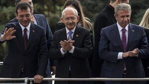 CHP lideri Kılıçdaroğlu, İmamoğlu ve Yavaş ile partililere seslendi