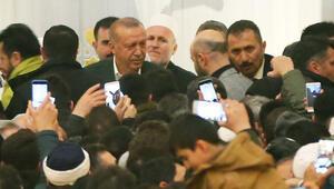 Cumhurbaşkanı Erdoğan Miraç Kandilinde Büyük Çamlıca Camiinde