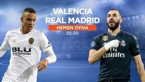 Real Madridin iddaa oranı yükselişte Valencia karşısında 5 eksik...