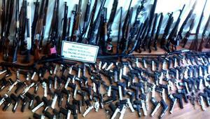 Kayseride 3 ayda 245 ruhsatsız silah ele geçirildi