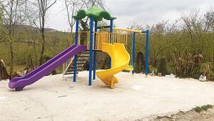 Çocuklara yeni park