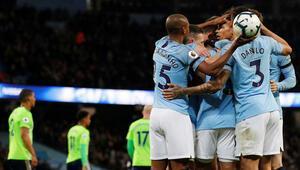 Manchester Cityden peş peşe 8. galibiyet