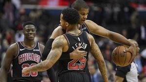 Bulls, Wizardsı son saniyede yıktı