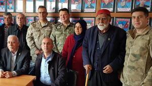 Komutanlardan, Düziçi Şehit Aileleri Derneğine ziyaret