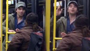 Yer İstanbul... Halk otobüsünde yaşlı kadına büyük terbiyesizlik