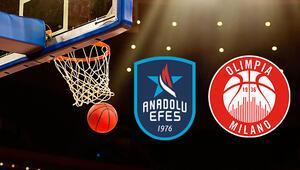 Anadolu Efes Olimpia Milano maçı ne zaman saat kaçta hangi kanalda Prestij maçı