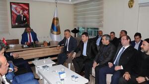 Hanide AK Partili İbrahim Lale, göreve başladı