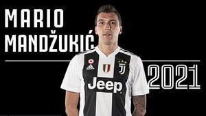 Mandzukic, Juventus ile 2021e kadar