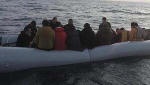 İzmirde çok sayıda kaçak göçmen yakalandı