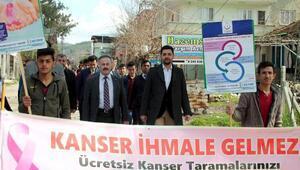 Osmaniyede kanser haftası etkinlikleri
