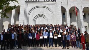 Milasta Başkan Tokat ve meclis üyeleri mazbatalarını aldı