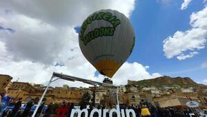 Mardinde balon turizmi başladı