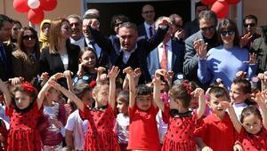 Fikret Orman, Arvinde anaokulu açılışına katıldı