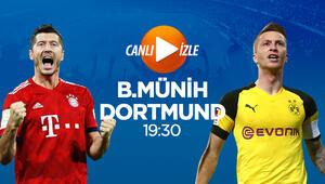 Bundesligada haftanın değil sezonun maçı CANLI iddaanın favorisi...