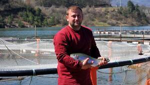 Denize kıyısı olmayan ilçeden dünyaya balık ihracatı
