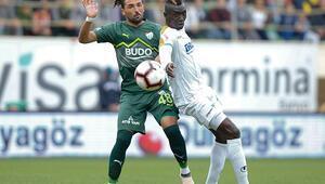 Aytemiz Alanyaspor - Bursaspor: 1-0