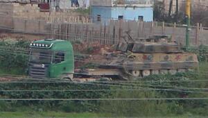 Teröristlerin Suriyedeki konvoyu görüntülendi