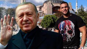 Erdoğan ile görüştü, ismini değiştirdi Müslüman sporcu...