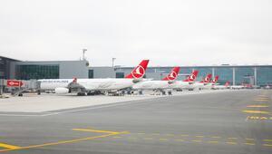 İstanbul Havalimanına uçuş için Kopenhagda ilk check-in