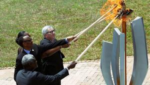 Ruandada katliamın 25inci yılı anılıyor