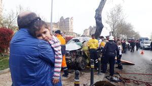 Fatihte can pazarı... Lüks otomobil çarptı kaçtı, küçük kız araçtan fırladı