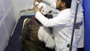 Koalisyon güçlerinden Sanaya hava saldırısı