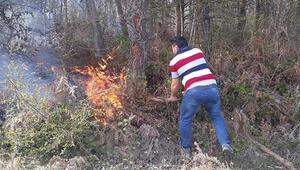 Sinopta korkutan yangın