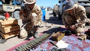 UMH birlikleri, Trablus Havalimanını Hafter güçlerinden geri aldı
