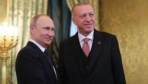Son dakika.. Erdoğan ve Putinden Moskovada önemli açıklamalar