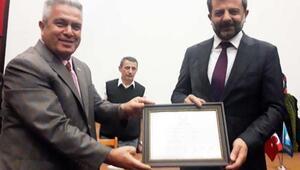 Gürsu Belediye Başkanı AK Partili Işık, mazbatasını aldı