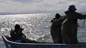 Balıkçının fotoğraf tutkusu