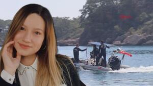 Derede kaybolan kader Buse Acarı arama çalışmaları sürüyor