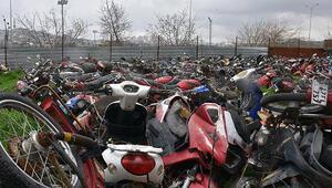 Hurda motosikletler MKEK yolcusu