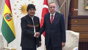 Cumhurbaşkanı Erdoğan, Bolivya Devlet Başkanı ile görüştü