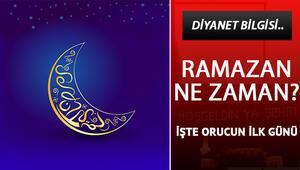 Bu yıl ilk oruç ne zaman tutulacak Ramazan ne zaman başlıyor