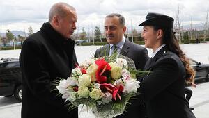 Cumhurbaşkanı Erdoğandan, koruma personeline kutlama