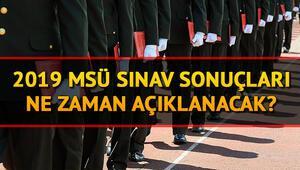 Milli Savunma Üniversitesi (MSÜ) sınav sonuçları ne zaman açıklanacak