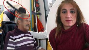Kafasında bıçakla hastaneye gelmişti Eşinden şok suçlama...