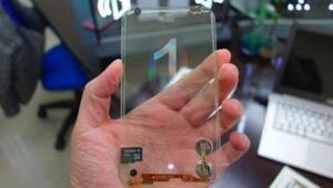 LGden hem şeffaf hem ekranı katlanabilen telefon