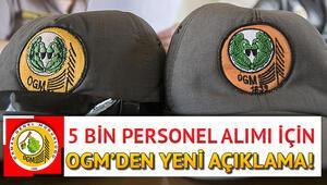 Orman Genel Müdürlüğü (OGM) 5 bin personel alımı için açıklama yaptı