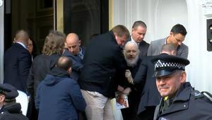 Wikileaksin kurucusu Assange gözaltında