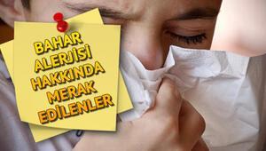 Bahar alerjisi nasıl geçer Bahar alerjisine iyi gelen yöntemler