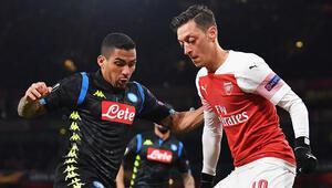 Arsenal istediğini aldı Yarı final yakın...