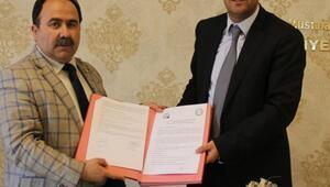 İncesuda sosyal denge tazminatı sözleşmesi yapıldı