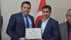 Dargeçit Belediye Başkanı AK Partili Aksoy göreve başladı