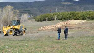 Gölova Barajında dolgu çalışmaları sürüyor