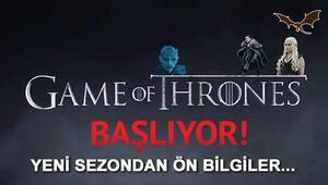 Game of Thrones 8. sezon ne zaman başlayacak Saatler kaldı